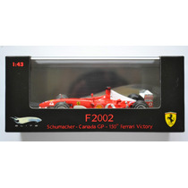 Ferrari F2002 M Schumacher Canada Gp-150 Victory Hot Wheels