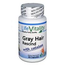 Gray Rescindir Pelo Con Catalasa Por Vitalidad Vida Hace Cab