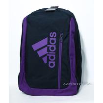 Mochila Adidas Bp Logounisex, Impermeable. Fotos Reales