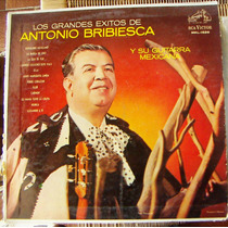 Bolero, Antonio Bribiesca, Grandes Exitos, Lp 12´, Eex