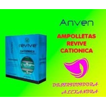 Ampolleta Cationica Anven Revive 20ml C/10pz