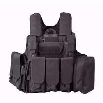 Chaleco Tactico Portaplaca Portapanel Armys Negro Outlet