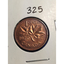 325- Moneda De 1 Centavo De 1970, Canada