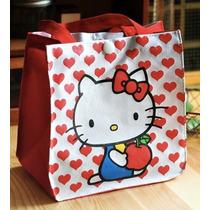 Bolsa Lonchera Mochila Cosmetiquera Hello Kitty Sanrio Kawai