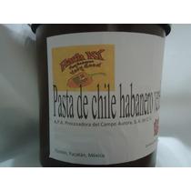 Pasta De Chile Habanero De Yucatán En Cubeta De 20 Kg. Puro