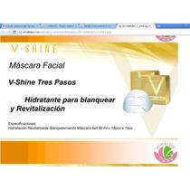 Mascarilla Facial Vshine Winalite Revitaliza Ilumina Hidrata