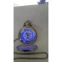 Reloj De Bolsillo Antiguo Con Luz