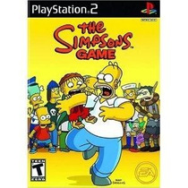 The Simpsons Game Ps2 *