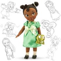 Muñecas Tiana Jazmin Mulan Aurora Animator 40cm Disney Store