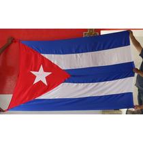 Bandera De Cuba Y De Todo El Mundo $400 Rm4