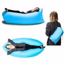 Sillon Saco Sofa Inflable Lazy Bag Playa Bolsa Hangout Cama