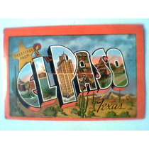 El Paso, Texas, Tarjetas Postales