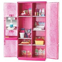 Barbie Golosinas Para Tv Frigorífico Set