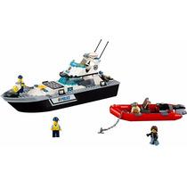 Lego - City 60129-barco Patrulla De Policía