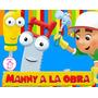 Kit Imprimible Manny A La Obra Dise�� Tarjetas Cotillon