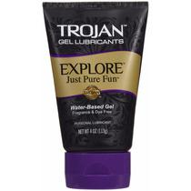 Lubricante Trojan Explore Just For Fun .calidad Env Grts*
