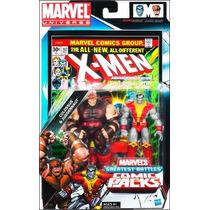 Marvel Universe Greatest Battles Colossus & Juggernaut