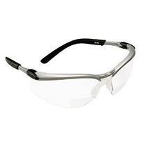 3m Reader 2.5 Gafas De Seguridad Dioptría Plata / Negro Marc