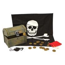 Cofre Pirata De Madera,de La Marca Melissa And Doug 12576 Ek