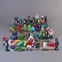Plantas Vs Zombies 40 Figuras Pvc Envio Gratis
