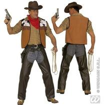 Vaquero Traje - Salvaje Oeste Leatherlook Chaps Fantasía