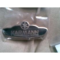 Vw Karmann Ghia Beetle Bocho Convertible Emblemas Laterales