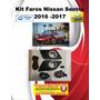 Faros De Niebla Auxiliares Nissan Sentra 2017 Meses Sin Inte