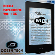 Nuevo Amazon Tablet Kindle Paperwhite 3g+wifi Luz Integrada