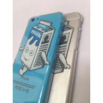Crystal Case Funda Para Iphone Milk Blur Leche