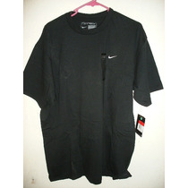 Camisa Nike Tipo Casual Negra Y Azul Caballero Tallas: M,l.