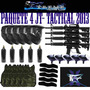 Super Paquete 4 Marcadoras Jt Tactical Gotcha Paintball Lbf