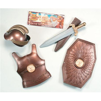 Traje Romano - Childs Soldado Armour Arma Vestido De Lujo