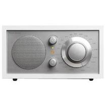 Tivoli Audio Modelo Uno Am / Fm Tabla Radio, Blanco / Plata