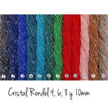 Tiras De Cristal Checo 4mm, Hermosos Colores Para Semanario