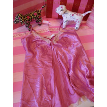 Victorias Secret The Pink Short Satin Baby Doll Sz: Xs
