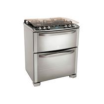 Estufa Gas Doble Horno Termocontrol Cocina Acero Electrolux