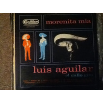 Disco Acetato: Luis Aguilar El Gallo Giro