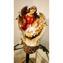 Hermosa Figura Angel Guardián De Jesus De Home Int $1750