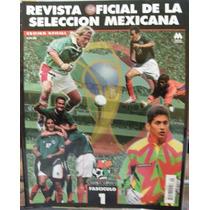 Revista Oficial Seleccion Mexicana, Numero 1, Fotos, Futbol
