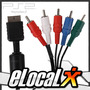 Cable Componente Para Audio Y Video Hdtv Playstation Ps2 Ps3