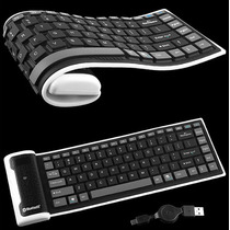 Mini Teclado Flexible Con Bluetooth Mac Ipad Iphone
