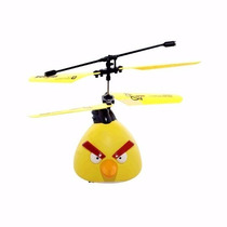 Helicóptero Angry Bird Radiocontrol Barato Helicopter Drone