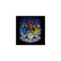 Importacion Bombero Paramedico Playera Haz Mat