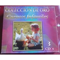 Cuentos Infantiles Coleccion De Oro Boxset 3 Cds Musart 2003