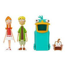 Juguetibox: Disney Phineas And Ferb Candace And Jeremy Perry