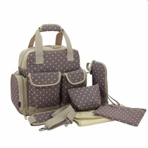 Pañalera Backpack Moderna Bebe Ropa Pañal Importada