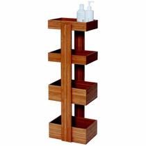 Caddy Wood Bathroom De Diseñador As Furniture