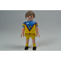 Playmobil Custom Jugador Futbol America Deporte Retromex