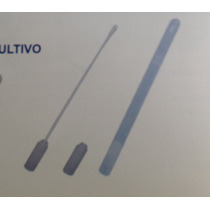 Tubo De Cultivo Con Tapon Plastico Esteril 10x150