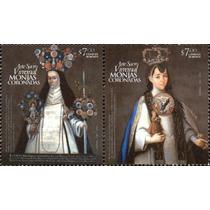 2012 Arte Sacro Virreinal, Monjas Coronadas Block 2 Mint Nh